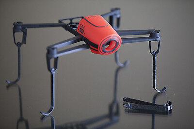 Bebop Arrival Gear BLACK 3d printed for Parrot bebop drone set of 6
