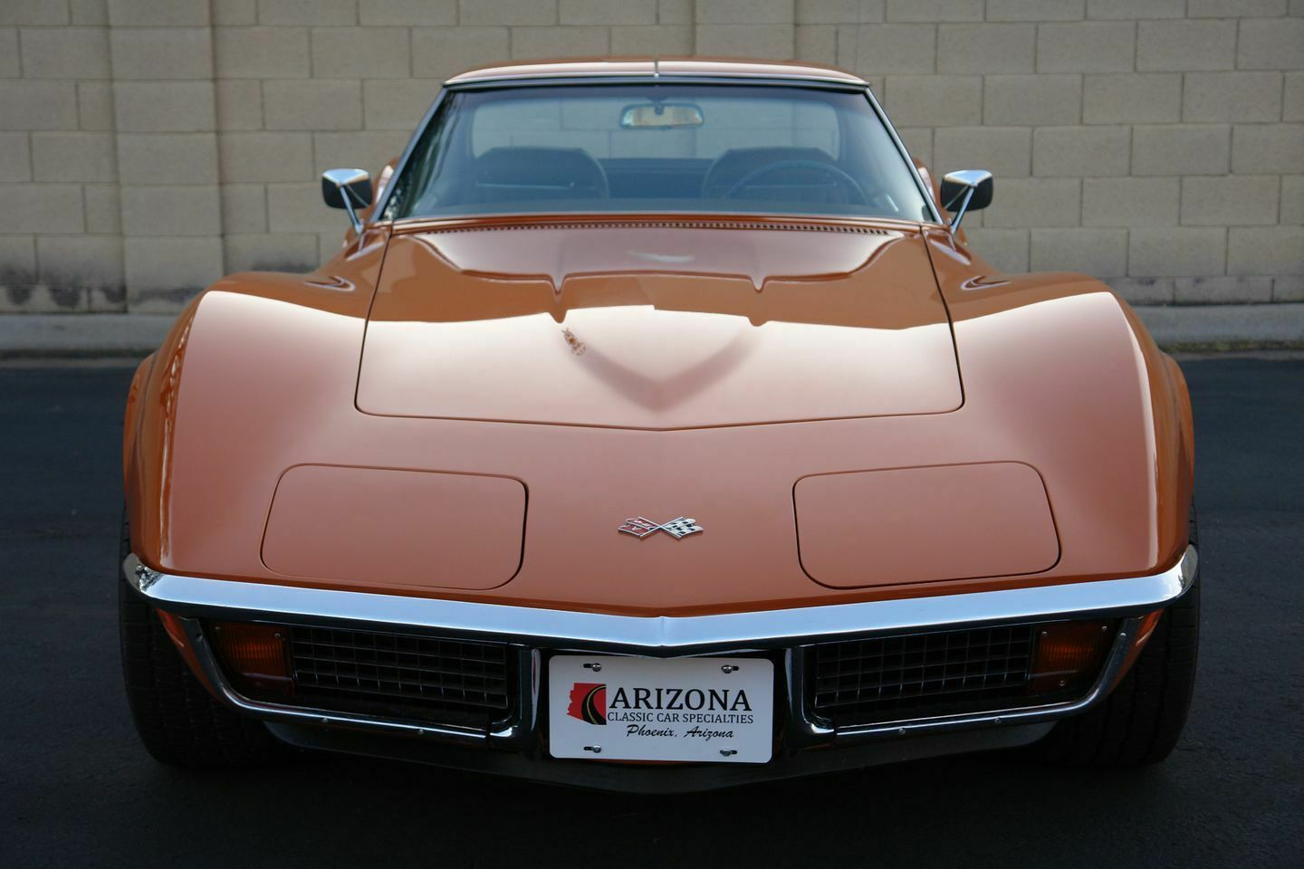 1972 Orange Chevrolet Corvette   | C3 Corvette Photo 9