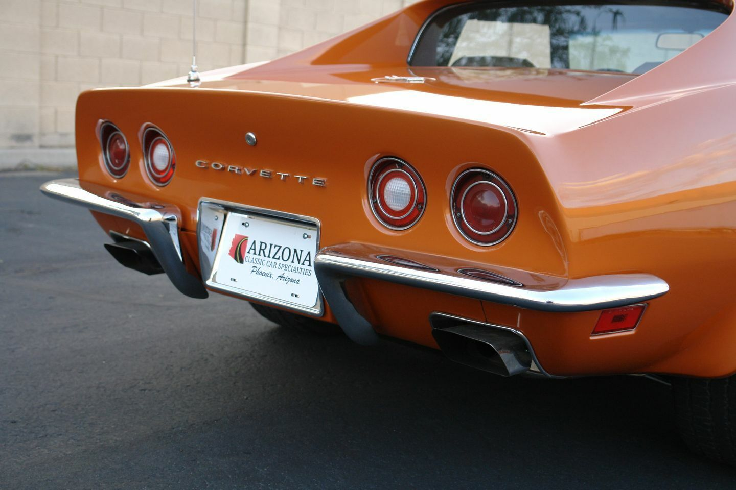 1972 Orange Chevrolet Corvette   | C3 Corvette Photo 4