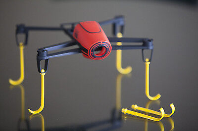 Bebop Touchdown Gear YELLOW 3d printed for Parrot bebop drone set of 6