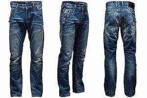 Mens JACK & JONES Denim Jeans Boxy Powel Blue Waist Size 28 30 32 34 36 38 S R L