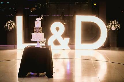 white led light up letters and numbers party hire gumtree
