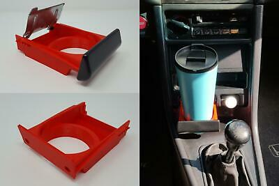 88-91 Honda CRX Ash Tray Cup Holder RED EDITION_ashtray cupholder cups trim dash