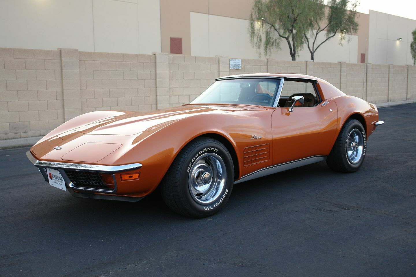1972 Orange Chevrolet Corvette   | C3 Corvette Photo 7