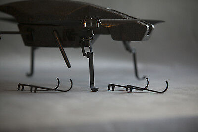 Parrot AR Drone 1.0 Pitch-black Clip-On 3d printed Landing Gear