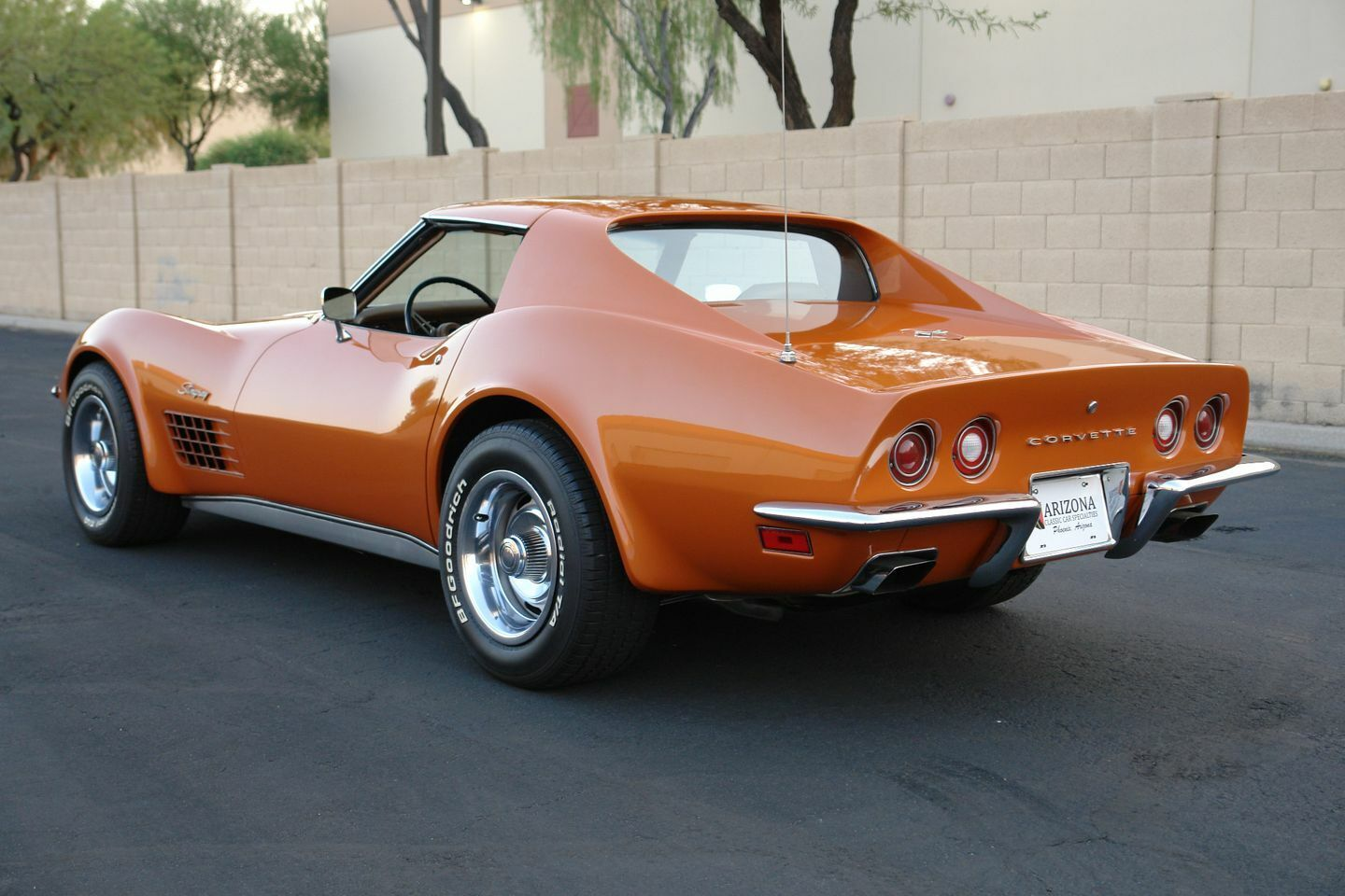 1972 Orange Chevrolet Corvette   | C3 Corvette Photo 5