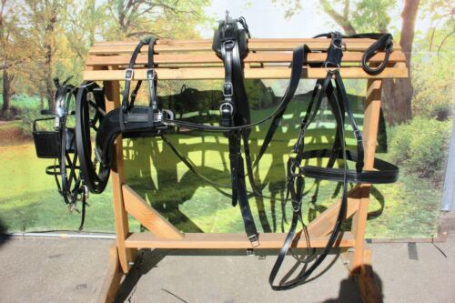 NEW made Granite horse, mule, haflinger quick release breaststyle buggy harness