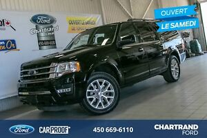 Ford Expedition Max 4 RM, 4 portes, Limited Noir