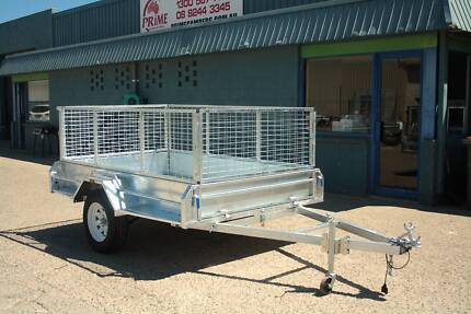 $2200 Heavy Duty 8x5ft Cage Trailer Brand New On Road Wingfield Port Adelaide Area Preview