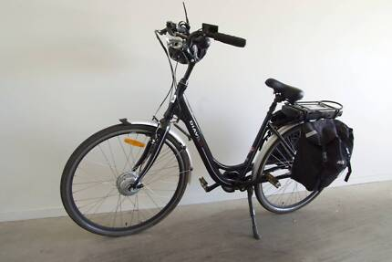 Electric Push Bike, New Condition, Brand 'Diavel', made in Italy