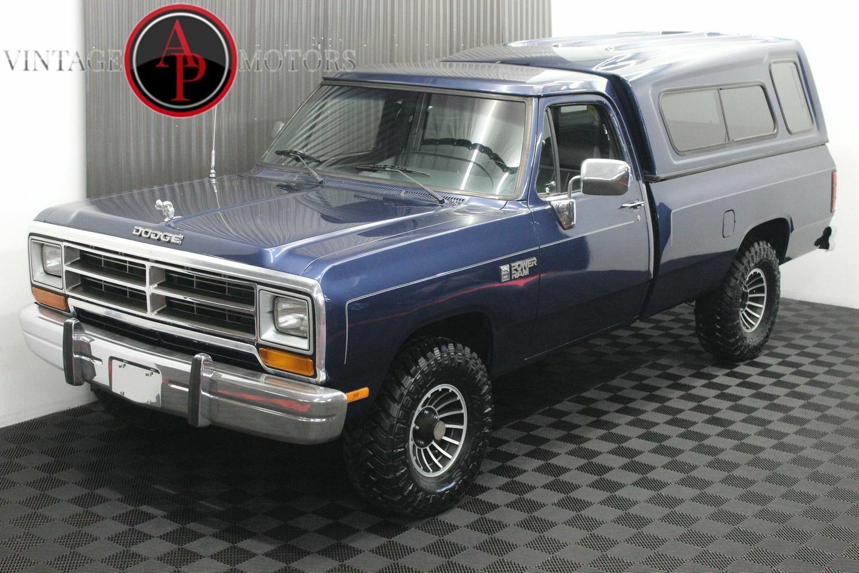 1990 Dodge W150 V8 4X4 AUTO POWER RAM 85k!