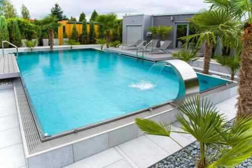 Stainless Steel Swimming Pool with skimmer 6,0 x 3,0 x 1,3 [m]