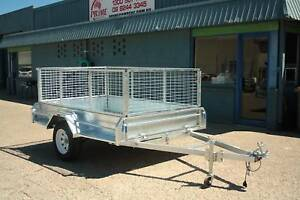 $2000 Heavy Duty 7x5ft Cage Trailer Brand New On Road