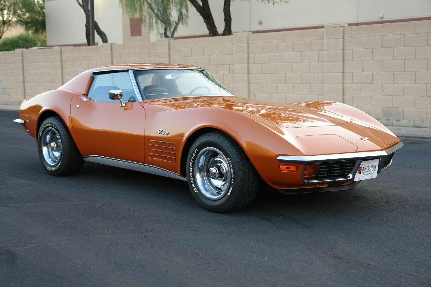 1972 Orange Chevrolet Corvette   | C3 Corvette Photo 1
