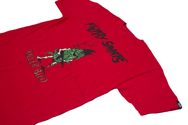 FILTHY SAINTS Killer Bud t shirt weed the hundreds mishka re