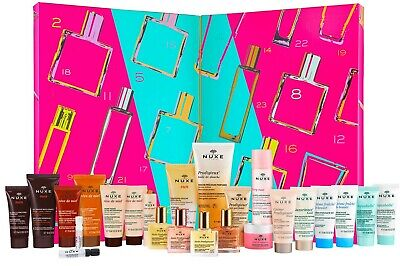NUXE NEW 2020 Beauty Countdown Advent Calendar with 24 Gift Surprises Christmas