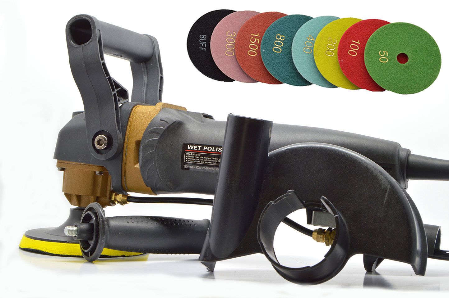 Professional Variable Speed Wet Stone Polisher Grinder 4