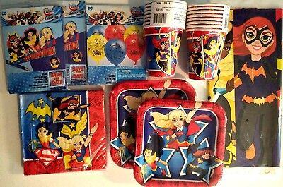 Superheld Mädchen Wonder Woman Geburtstagsparty Stromversorgung Satz M/