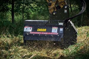 DIGGA FLAIL HYDRAULIC MULCHER MOWER 3-6T EXCAVATORS Austral Liverpool Area Preview