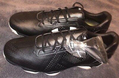 Under Armour Drive One Golf Shoes Jordan Spieth Black Size: 14 (1267756-001)