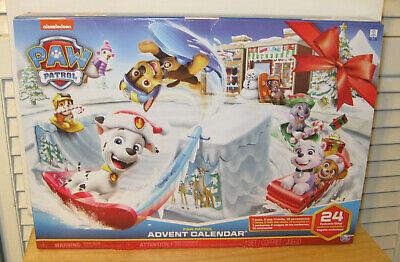 NEW 2020 Paw Patrol Advent Calendar ~ 24 Exclusive Gifts ~ Nickelodeon NIP VHTF