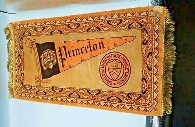 Antique Fatima Cigarettes Princeton University Large Felt Pennant Banner Promo