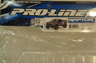 Pro-Line Racing True Scale Ford F150 Raptor SVT Clear Body: SLH
