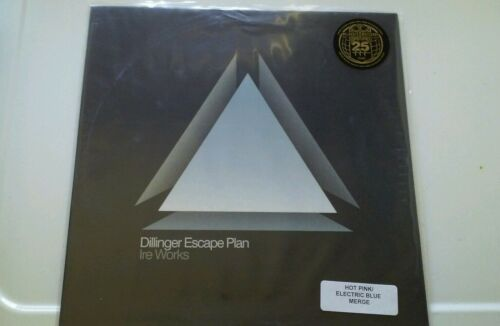 The Dillinger Escape Plan - Ire Works(Hot Pink Blue Merge Vinyl)Converge