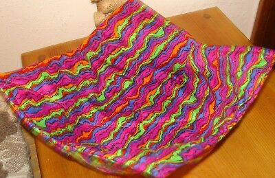 Rainbow Microwave - Microwave Bowl Holder Bowl Cozy Bowl Potholder Neon Rainbow Fun Bowl Cover
