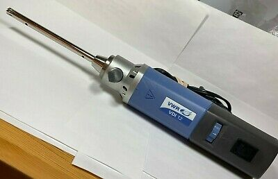 VWR VDI 12 S1  Homogenizer, Cat # 82027-184 with 8 mm Dispersing Aggregate , usado segunda mano  Embacar hacia Argentina