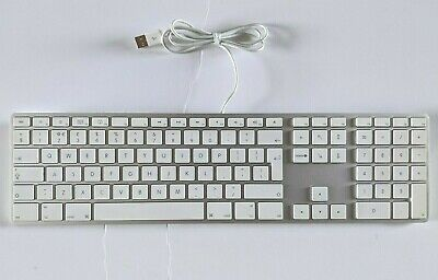 Apple Mac A1243 British Extended USB Wired Keyboard