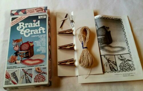 Shirley Botsford Braid Rug Craft Kit - 1987 Deluxe Tool Set #81000 NEW UNUSED