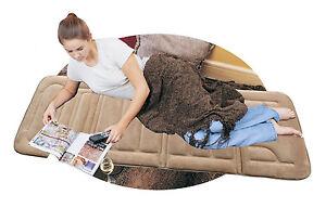 Neck And Shoulder Massager Leg Pain Body Massage Back Mat Full Electric Heat NEW