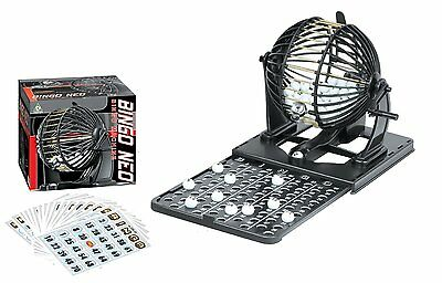 Bingo Game Cards (Family Classic Bingo Machine Cage Game Set Kit 75 Balls Numbered 20 Cards)