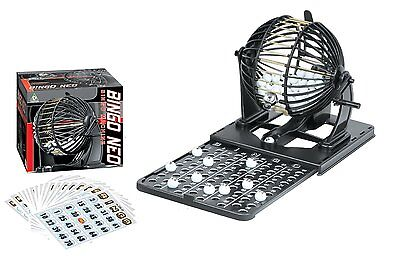 Family Classic Bingo Machine Cage Game Set Kit 75 Balls Numbered 20 Cards TG208 - Bingo Game Set