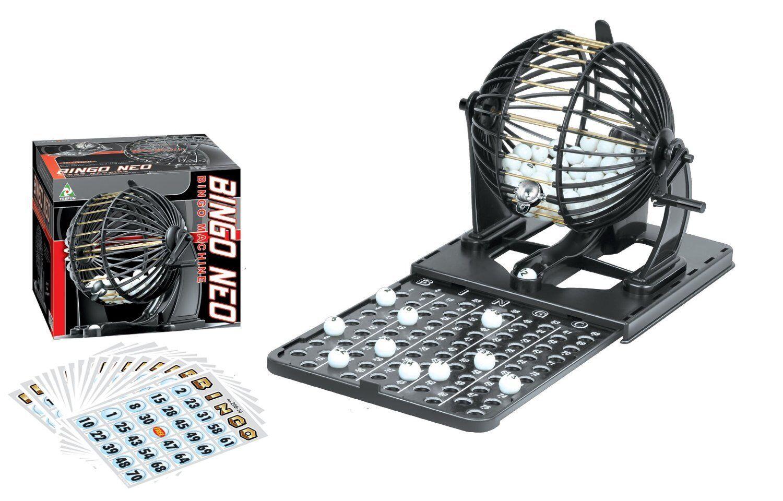 Family Classic Bingo Machine Cage Game Set Kit 75 Balls