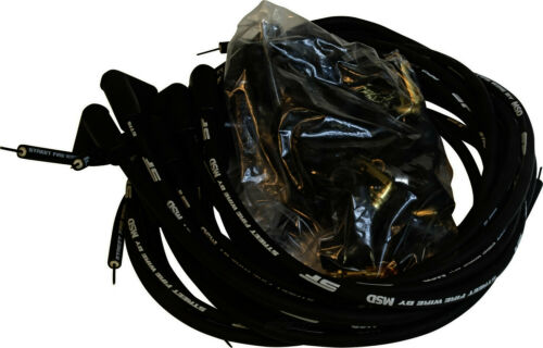 Natural MSD 5553 CARB Spark Plug Wire Set-GAS