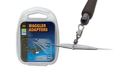 5 PER PACK WAGGLER ADAPTORS COARSE FISHING PRESTON INNOVATIONS