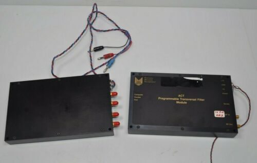 EDI Acoustic Charge Transfer (ACT) Programmable Transversal Filter Module Lot