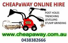 $70/HR DINGO HIRE | POST HOLE AUGER | TRENCHING | STUMP GRINDING Ipswich Ipswich City Preview