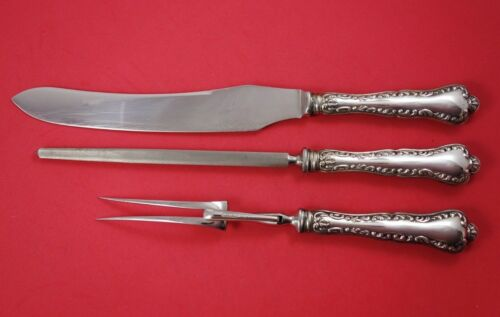 Louis XV by Birks Sterling Silver Roast Carving Set 3-Piece HH w/Stainless
