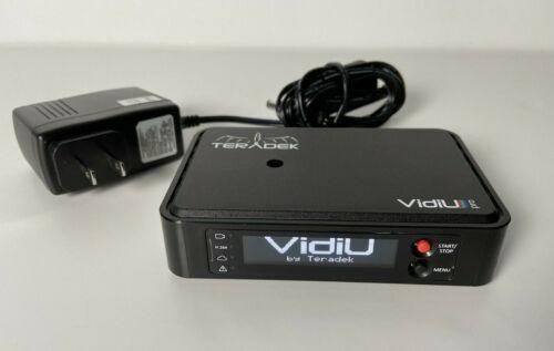 Teradek VidiU Pro 4G Streaming Device H.264 Encoder HDMI WiFi Live Broadcaster