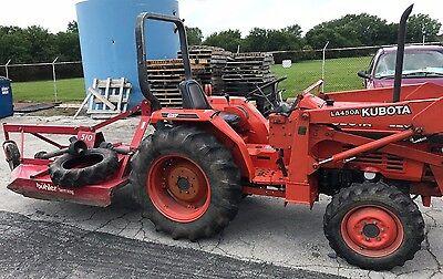Kubota Tractor Model L2650gst Serial 80589
