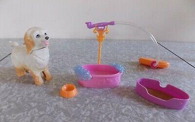Mattel BARBIE Doll Dog Wash Dog Groomer Playset with instruction sheet