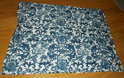 Ralph Lauren standard Pillow Sham Lotus Blossom Blue White Bloom Pillow Sham