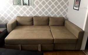 Ikea sectional bed with storage
