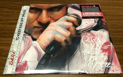 """12"""" Vinyl Brother Ali """"The Truth Is Here"""" LTD Edition 2 Record Set Rhymesayers"""