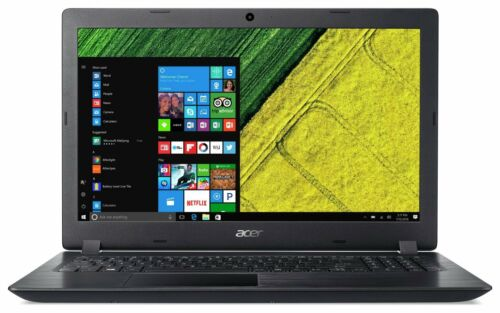 Acer Aspire 3 15.6 Inch N4200 1.1GHz Pentium 4GB 1TB HDD Laptop - Black.