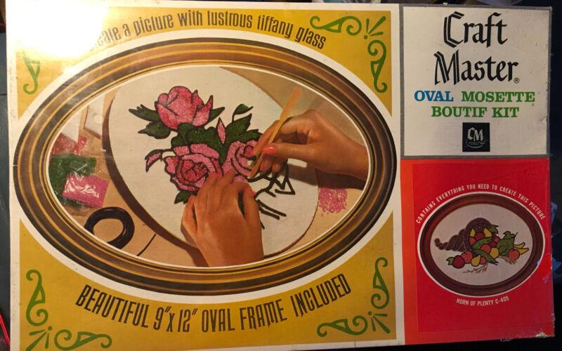 Vintage Craft Master Mosette Boutif Mosaic Kit. Horn Of Plenty THANKSGIVING
