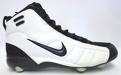2fe93d423319 Nike Air Zoom Barracuda Stove Black and White Football Cleats - Size 13